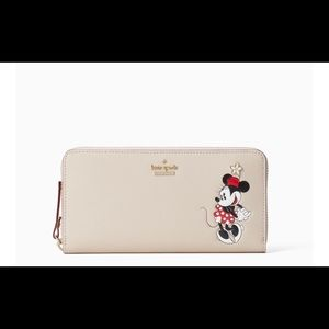 Kate space x Minnie Mouse Lacey wallet